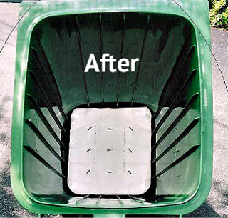 after bin cleaning