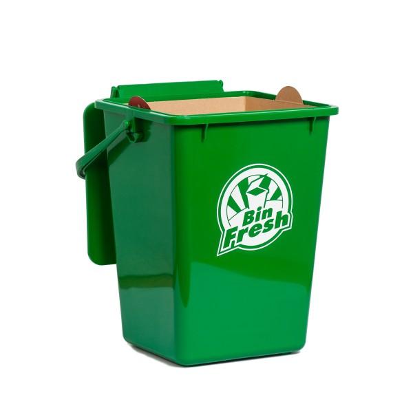 Green Kitchen Bin: Boxboard Kitchen Bin Liners