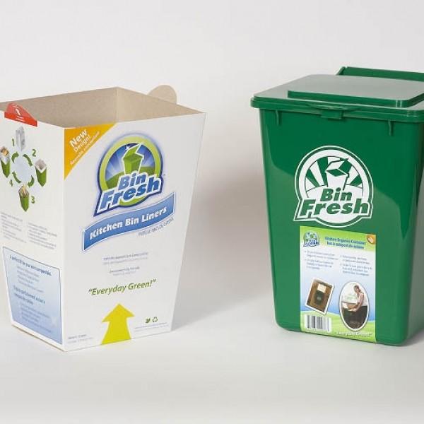 Green Kitchen Bin: Kitchen Organics Container