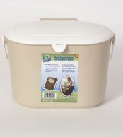 Kitchen Organics Container - Beige
