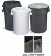 Huskie Receptacle - 44 Gallon