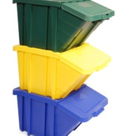 12 Gallon Stackable Set