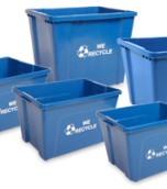 14 Gallon Curside Recycling Bin Series