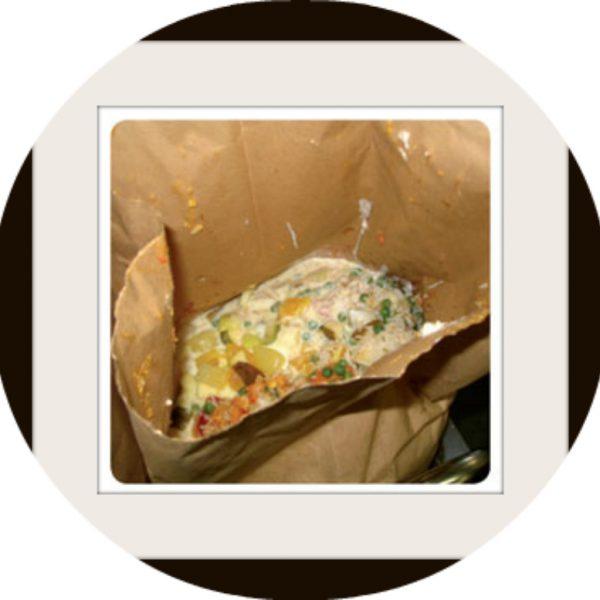 BAG FULL OF FOOD