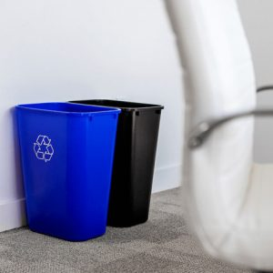 OFFICE RECYCLING & WASTE BASKET