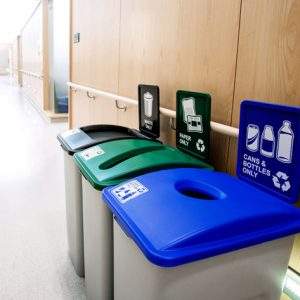 commercial recycling station