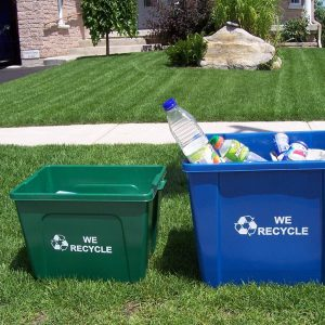 Curbside Recycling Containers