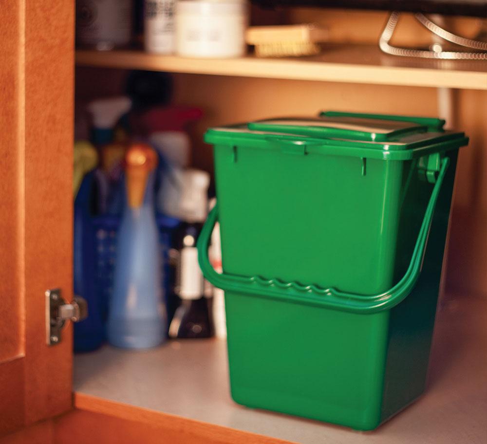 Kitchen Composter Full 2b1