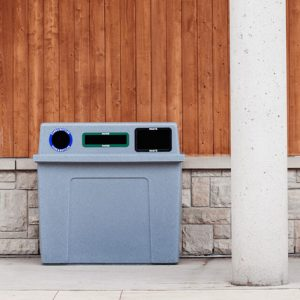 The Super Sorter Series outdoor recycling stations make the first step towards a successful recycling program easy.