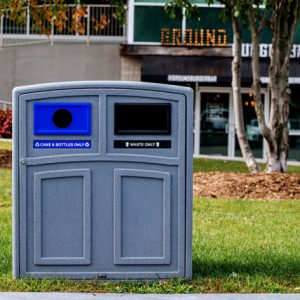 Outdoor Recycling Station
