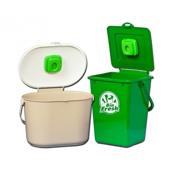A green bin deodorizer creates a better smelling, hygienic home, Combats bacteria that causes odour, Ideal for kitchens, bathrooms or anywhere stinky.