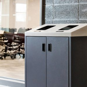 SUMMIT SERIES Commercial Waste & Recycling Station. Heighten your waste diversion with the our Summit Series station from Bin Doctor.